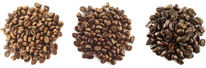 типи обсмаження кави